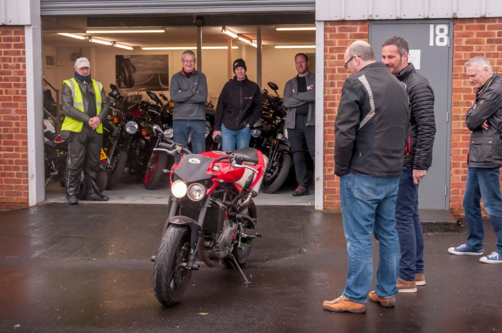 Spyder Club Open Day - Motorcycle Moto Morini