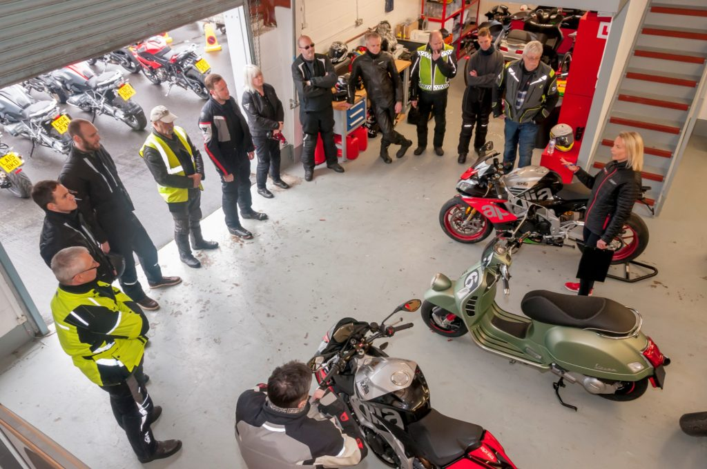 Spyder Club Open Day - Motorcycle Briefing