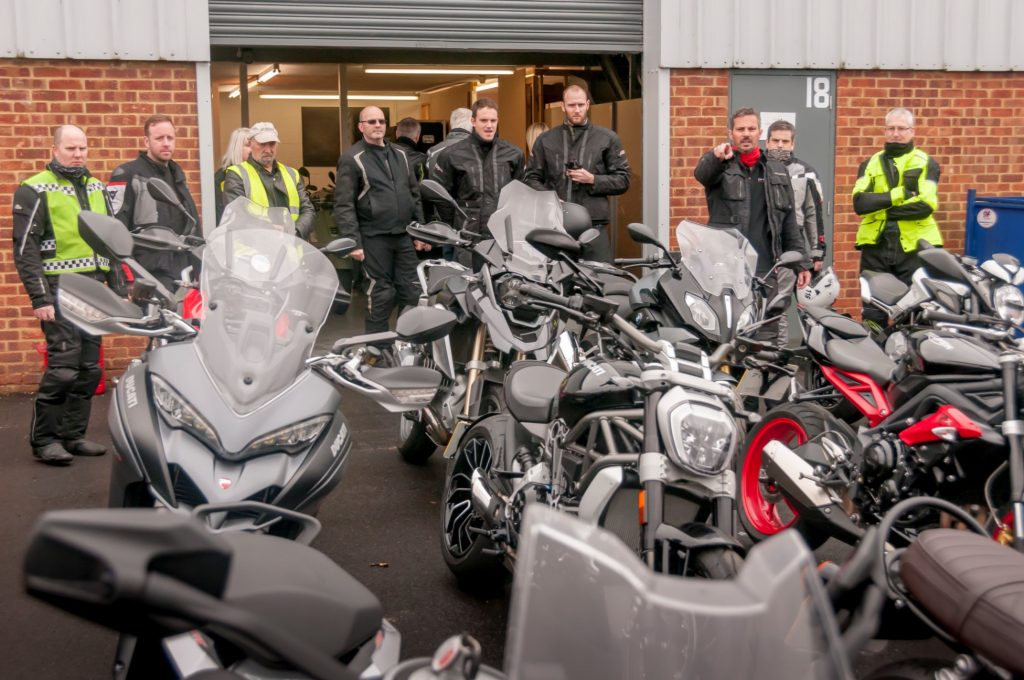Spyder Club Open Day - Motorcycle Ducati