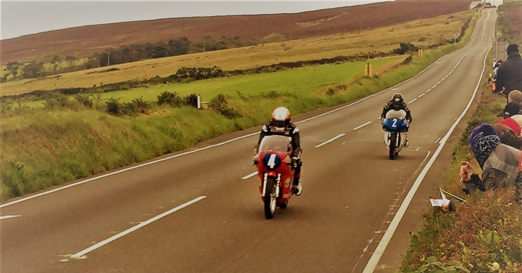 Classic Manx IOM TT Motorcycle Hire