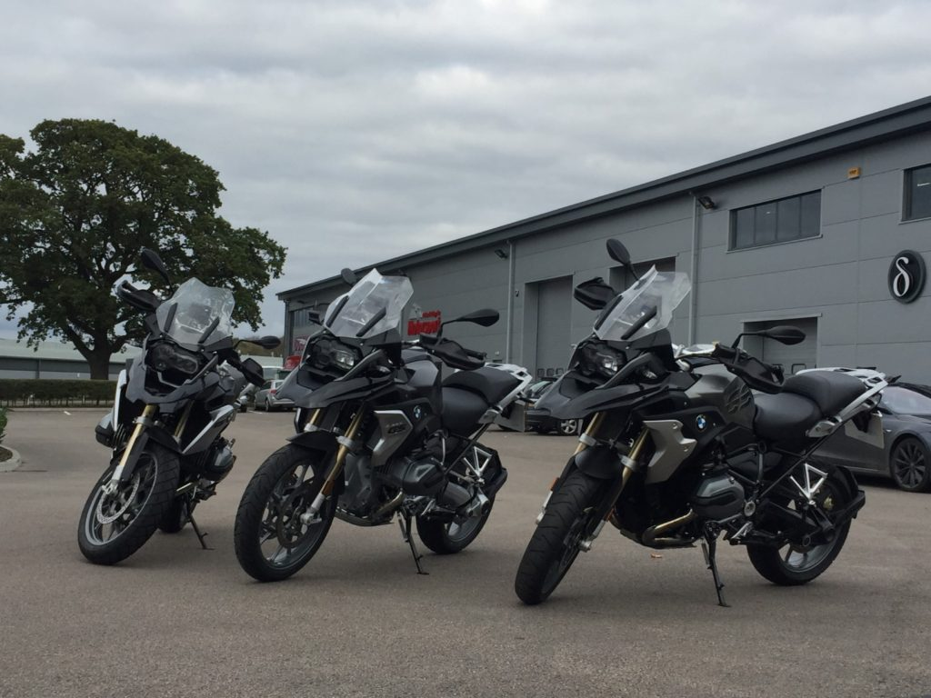 Spyder Motorcycles and Club R1250GS