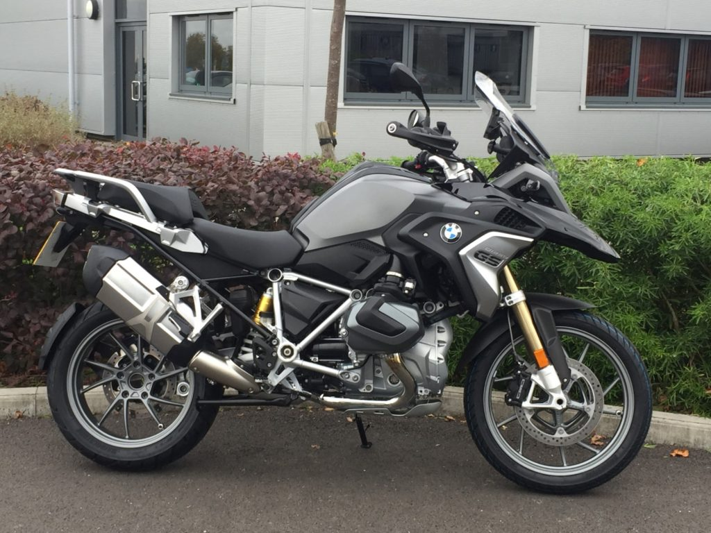 Spyder Motorcycles and Club BMW R1250GS