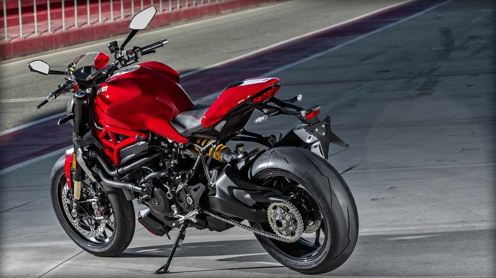 Spyder Motorcycles and Club Ducati Monster 1200R