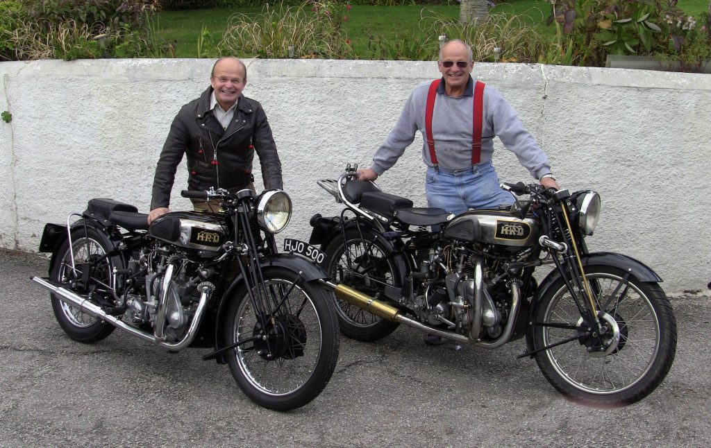 Harvey Motorcycling Around the World on a 1930's HRD Vincent